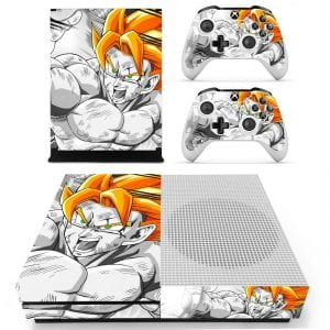 Dragon Ball Z Bruised Son Goku Orange Hair HD Xbox S Skin