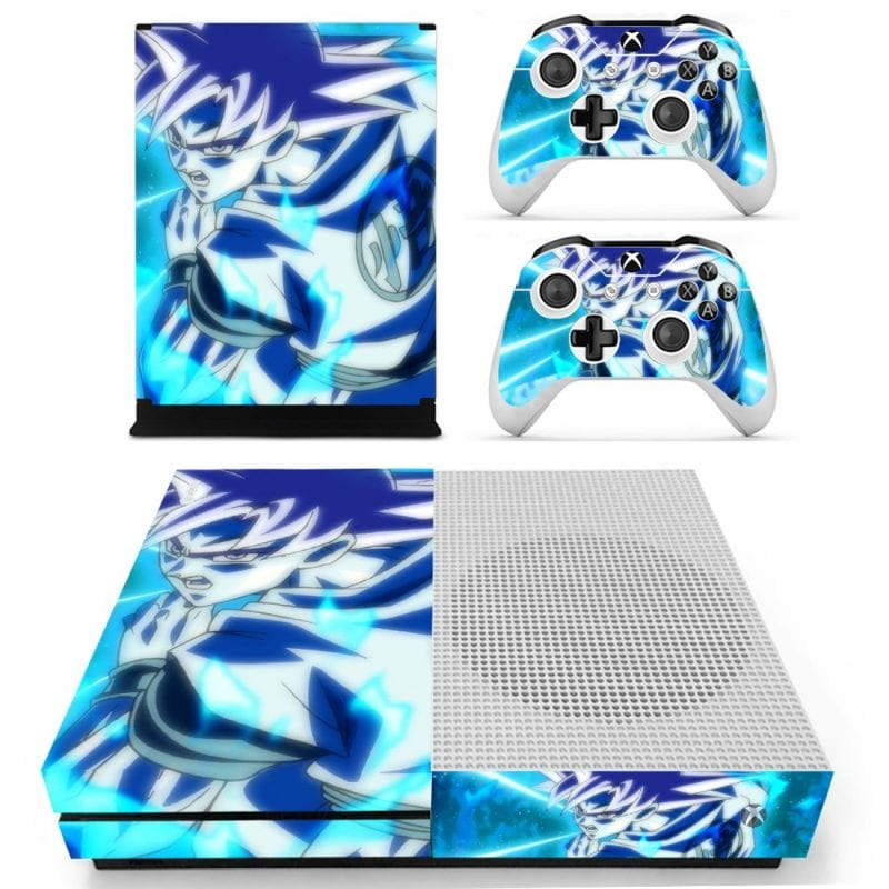 Dragon Ball Goku Blue Kaioken Kamehameha Wave HD Xbox S Skin