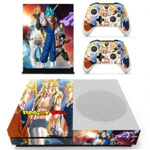 DBZ Son Goku Blue Strong Saiyan Fighters Xbox One S Skin