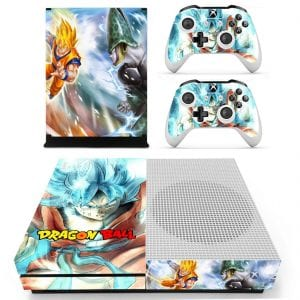 DBZ Goku Blue Saiyan Kaioken Perfect Cell Xbox One S Skin