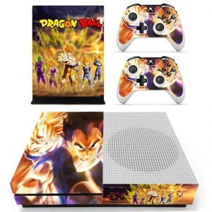 Dragon Ball Z The Super Saiyans And Piccolo Xbox One S Skin