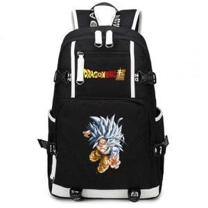DBS Son Goku Super Saiyan 5 Form Black Backpack Bag