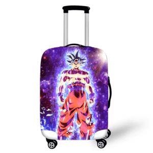 Powerful Son Goku Ultra Instinct Travel Suitcase Cover