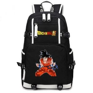 DBS Son Goku Super-Heavy Training Outfit Black Bag