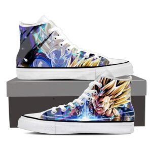 DBZ Gohan Aura Goku Super Saiyan Cool Blue Sneaker Shoes