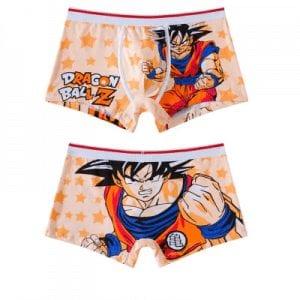 Dragon Ball Z Son Goku Kame Kanji Star Pattern Boxer Shorts