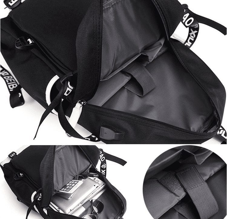 DBS Son Goku Super-Heavy Training Outfit Black Bag