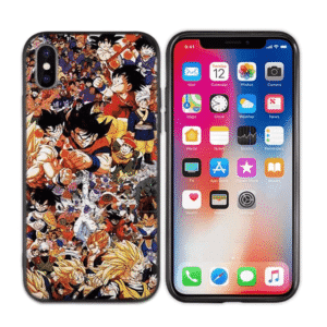 Dragon Ball Z Anime Characters iPhone 11 (Pro & Pro Max) Case