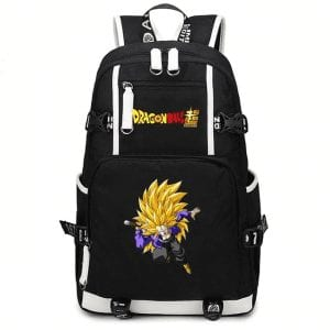 DBS Trunks Super Saiyan 3 Fight Stance Travel Backpack