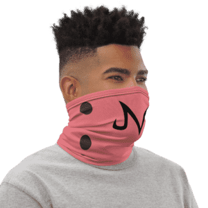 Dragon Ball Z Majin Buu Sigil Pink Face Covering Neck Gaiters