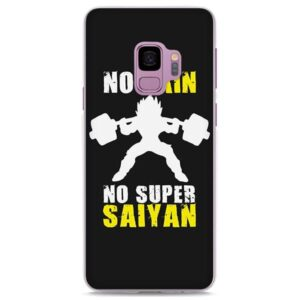 No Pain No Gain Super Saiyan Vegeta Samsung Galaxy Note S Series Case