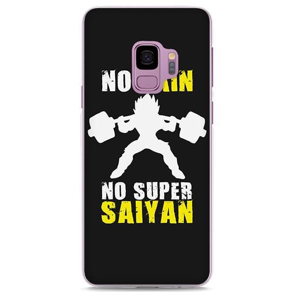 No Pain No Gain Super Saiyan Vegeta Samsung Galaxy Note S Series Case