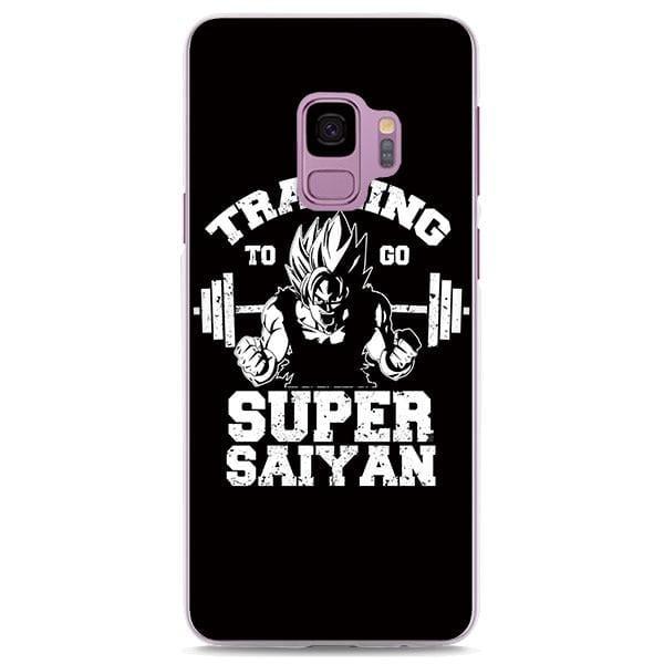 Goku Super Saiyan Gym Motivation Black Samsung Galaxy Note S Series Case