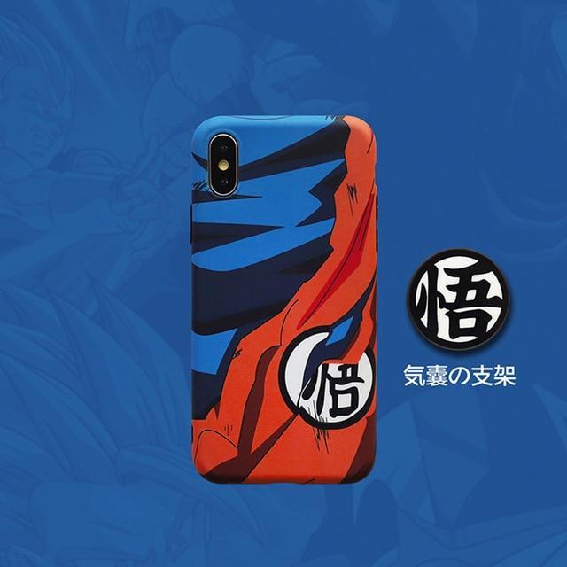 DBZ Go Goku Symbol Damaged Suit iPhone 11 (Pro & Pro Max) Case