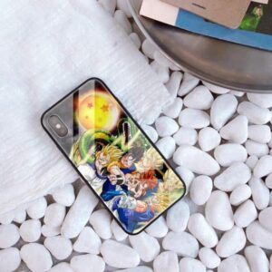 SSJ Son Goku And Shenron iPhone 11 (Pro & Pro Max) Case