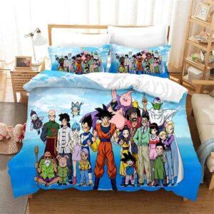 Dragon Ball Z First Season Protagonists Bedding Set