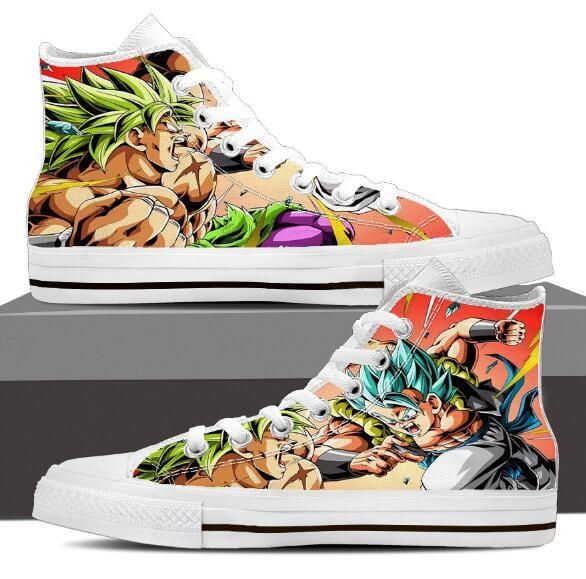 Dragon Ball Z Gogeta Super Saiyan 4 & Broly Sneaker Shoes