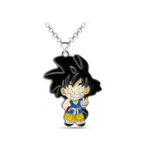 DBZ Son Goku's Cheerful Cheeky Grin Pendant Necklace