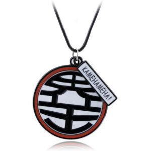 Dragon Ball Z King Kai Kanji Symbol Jewelry Necklace