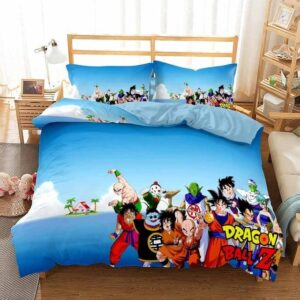 Dragon Ball Z Fighters Kame House Island Bedding Set