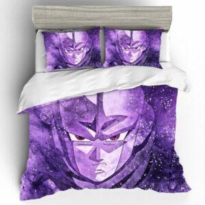 Dragon Ball Super Hit The Legendary Hitman Purple Bedding Set