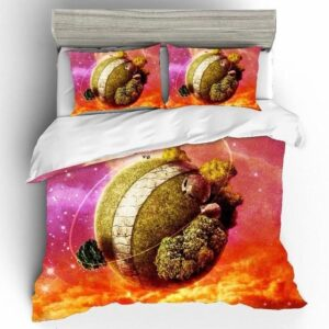 Dragon Ball Z King Kai North Kai's Planet Bedding Set