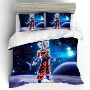 Dragon Ball Multiverse Son Goku Ultra Instinct Bedding Set