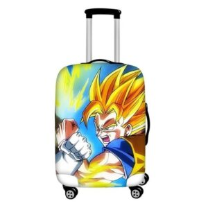 Fighting Super Saiyan Son Goku Protective Suitcase Cover