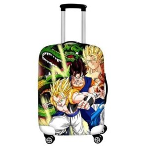 Super Saiyan Gogeta And Vegito Fusion Forms Luggage Cover
