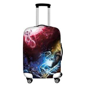 Frieza Death Ball Vs Goku Kamehameha Suitcase Cover