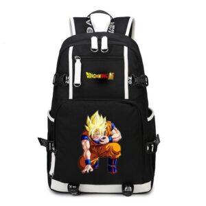 Dragon Ball Z SSJ Son Goku Orange Training Suit Backpack