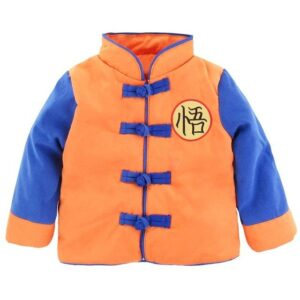 DBZ Long Sleeve Goku's Kanji Cute Cosplay Baby Sweatshirt