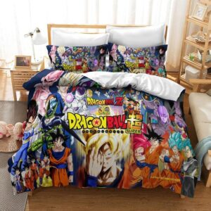 Dragon Ball Z 30th Anniversary Main Characters Bedding Set