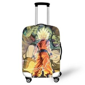 Furious Gohan Fighting Giant Bojack Suitcase Cover