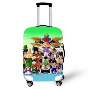 DBZ Main Characters With Ginyu Forces Luggage Cover