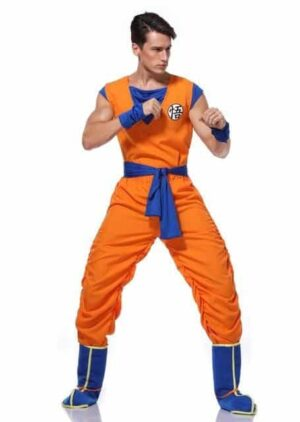 Dragon Ball Z Son Goku's Training Suit Set Cosplay Costume