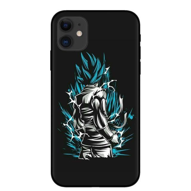 Goku Super Saiyan God Blue iPhone 11 (Pro & Pro Max) Case