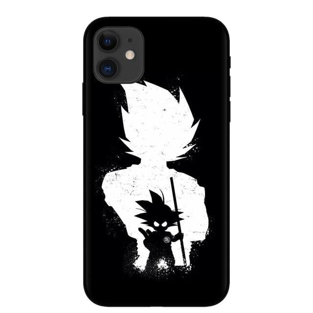 Kid Goku & Vegeta Silhouette iPhone 11 (Pro & Pro Max) Case