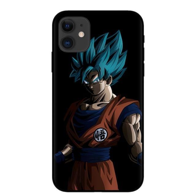 Son Goku Super Saiyan Blue iPhone 11 (Pro & Pro Max) Case
