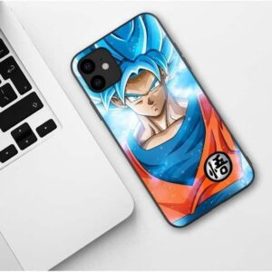 DBZ Super Saiyan Blue Goku iPhone 11 (Pro & Pro Max) Case