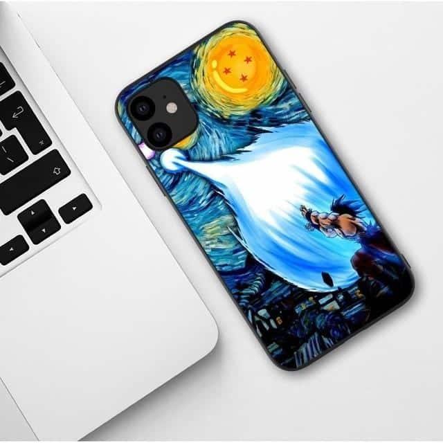 Goku Kamehameha Attack Fan Art iPhone 11 (Pro & Pro Max) Case