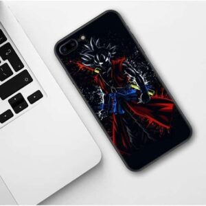 Xeno Goku Black Silhouette iPhone 11 (Pro & Pro Max) Case