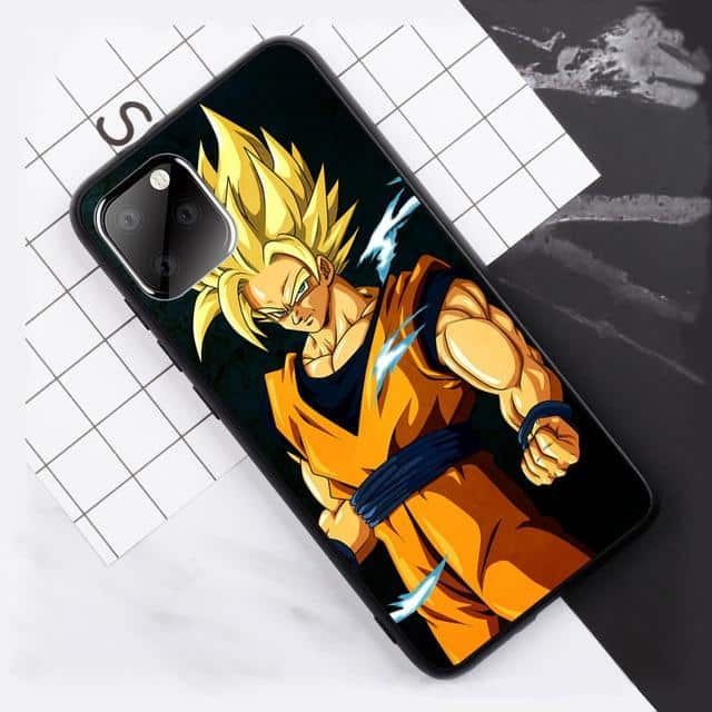 Dragon Ball Z Super Saiyan Goku iPhone 11 (Pro & Pro Max) Case