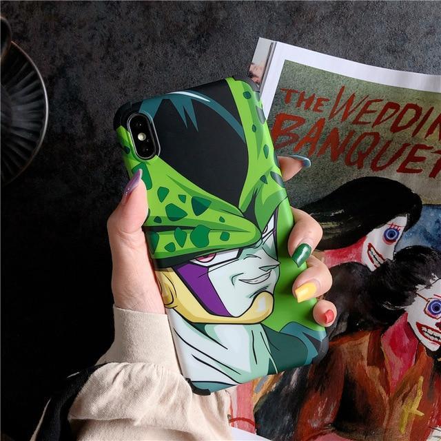 DBZ Villain Cell Famous Smirk iPhone 11 (Pro & Pro Max) Case