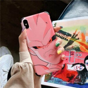 DBZ Annoyed Super Buu Pink iPhone 11 (Pro & Pro Max) Case