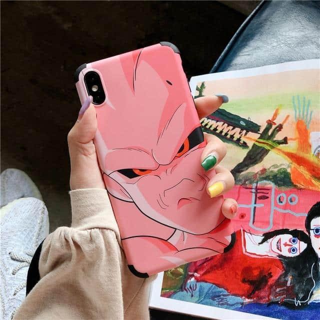 DBZ Annoyed Super Buu Pink iPhone 11 (Pro & Pro Max) Case