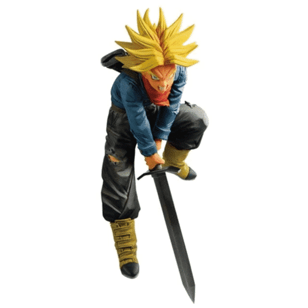 Super Saiyan Trunks Smashing Sword Action Figure