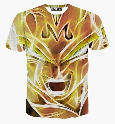 Super Saiyan Majin Vegeta 3D T-Shirt