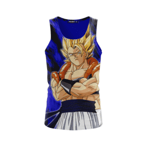 Dragon Ball Z Gogeta Super Saiyan Dope Beach Summer Tank Top Back