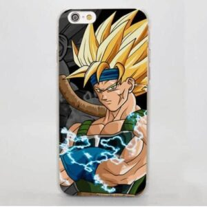 Dragon Ball Bardock Saiyan Goku Father Powerful Warrior iPhone 4 5 6 7 8 Plus X Case